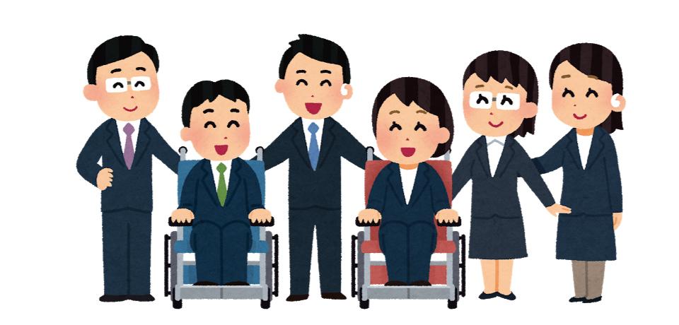 人生経験豊富な高齢者がサポート役となり、働き手となる障がい者と受け入れ企業 双方の不安解消をおこないます。